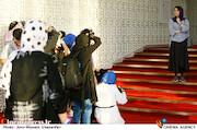 ندا عقیقی در پنجمین روز سی و هشتمین جشنواره جهانی فیلم فجر