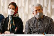 شاهرخ فروتنیان و شبنم گودرزی در پنجمین روز سی و هشتمین جشنواره جهانی فیلم فجر