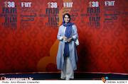 مهدیه نساج در پنجمین روز سی و هشتمین جشنواره جهانی فیلم فجر