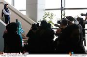 شادی کرمرودی در پنجمین روز سی و هشتمین جشنواره جهانی فیلم فجر