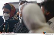 شبنم گودرزی در پنجمین روز سی و هشتمین جشنواره جهانی فیلم فجر