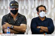 احسان عبدی پور و حمید فرخ نژاد در ششمین روز سی و هشتمین جشنواره جهانی فیلم فجر