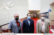 محمدمهدی عسگرپور، حسین انتظامی و امیر اسفندیاری در ششمین روز سی و هشتمین جشنواره جهانی فیلم فجر