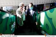 محمدمهدی عسگرپور و حسین انتظامی در ششمین روز سی و هشتمین جشنواره جهانی فیلم فجر