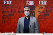 محمد حمیدیمقدم در هفتمین روز سی و هشتمین جشنواره جهانی فیلم فجر