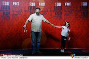 کیوان کثیریان در هفتمین روز سی و هشتمین جشنواره جهانی فیلم فجر