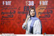 هلیا امامی در هفتمین روز سی و هشتمین جشنواره جهانی فیلم فجر