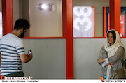مستانه مهاجر در هشتمین روز سی و هشتمین جشنواره جهانی فیلم فجر