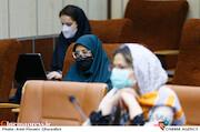 سحر قناعتی در نشست خبری مدیرعامل انجمن سینمای جوانان ایران