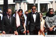 امیرجدیدی و سارینا و اصغر فرهادی در جشنواره فیلم کن ۲۰۲۱