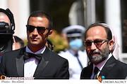 امیر جدیدی و اصغر فرهادی در جشنواره فیلم کن ۲۰۲۱