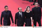 سارینا فرهادی، اصغر فرهادی و امیر جدیدی در جشنواره فیلم کن ۲۰۲۱