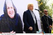 محمد بهشتی در مراسم تشییع پیکر زندهیاد «فرشته طائرپور»