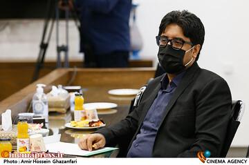 محسن دلیلی در مراسم رونمایی از پوستر سی و چهارمین جشنواره بینالمللی فیلمهای کودکان و نوجوانان