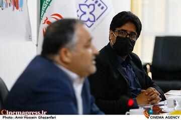 محسن دلیلی در نشست خبری سیوچهارمین جشنواره بینالمللی فیلمهای کودکان و نوجوانان