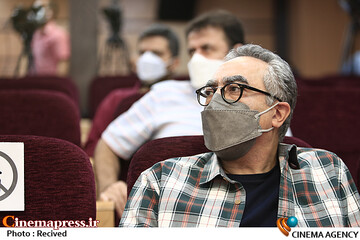 فرهاد توحیدی در مراسم افتتاحیه پنجمین المپیاد فیلمسازی نوجوانان ایران