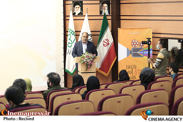سخنرانی حبیب ایل بیگی در مراسم افتتاحیه پنجمین المپیاد فیلمسازی نوجوانان ایران