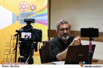 حبیب احمدزاده در سومین روز سیوچهارمین جشنواره بینالمللی فیلمهای کودکان و نوجوانان