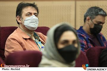 حسین قناعت در مراسم اختتامیه پنجمین المپیاد فیلمسازی نوجوانان ایران