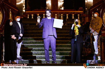 مراسم اختتامیه سی و هشتمین جشنواره بینالمللی فیلم کوتاه تهران