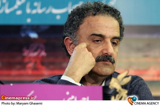 احمد امینی در نشست فیلم بی خداحافظ در سی امین جشنواره فیلم فجر