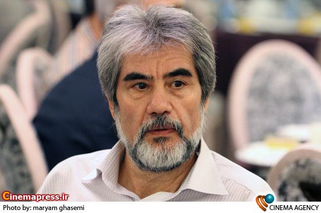محمد نشاط در مراسم ضیافت افطار انجمن تهیه کنندگان سینمای ایران