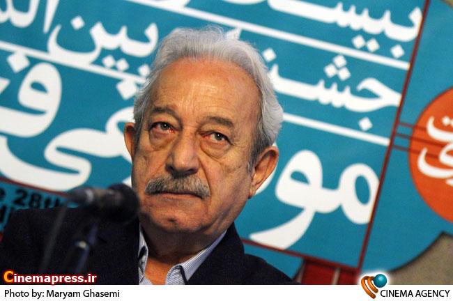 دکترحسن ریاحی دبیر جشنواره در نشست خبری بیست و هشتمین جشنواره موسیقی فجر