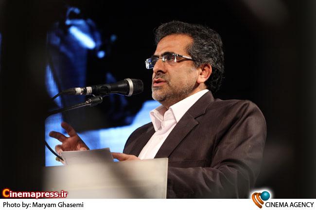 سخنرانی شمقدری ریئس سازمان سینمایی در مراسم اختتامیه نخستین جشنواره فیلم های ویدئویی تهران