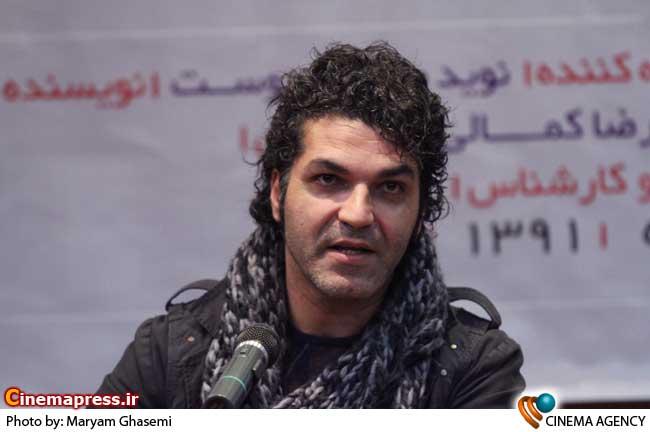 علیرضا امینی کارگردان در نشست سریال «میلیاردر» در فرهنگسرای رسانه