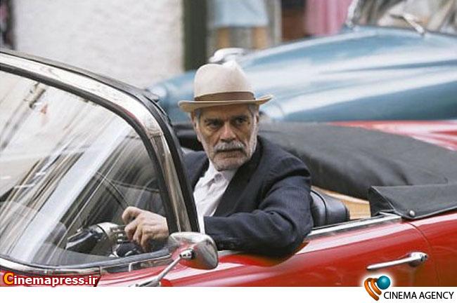 عمر شریف بازیگر سینما در نمایی از فیلم