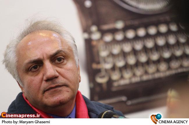 علی معلم در نشست آسیب شناسی نقد فیلم در فرهنگسرای رسانه