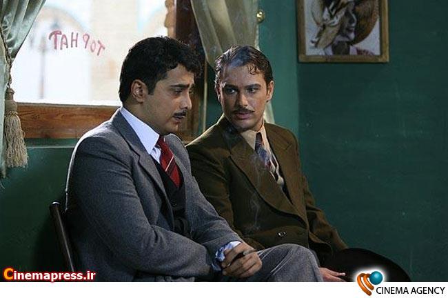 شهروز ابراهیمی در سریال تلویزیونی «کلاه پهلوی» به کارگردانی ضیاءالدین دری