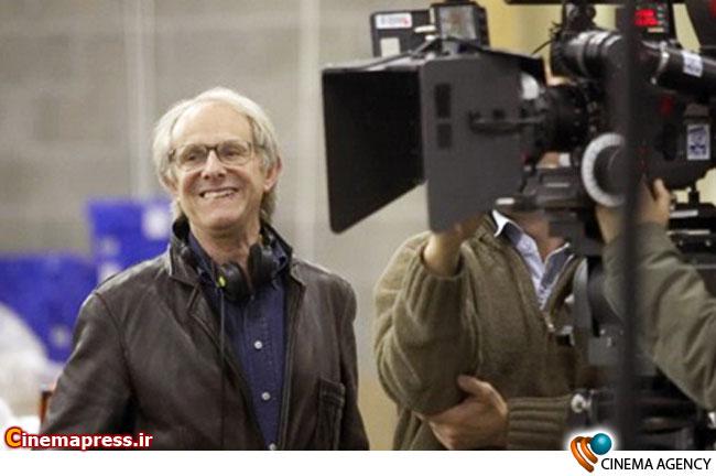 کن لوچ کارگردان صاحب نام انگلیسی در پشت صحنه یکی از فیلم هایش
