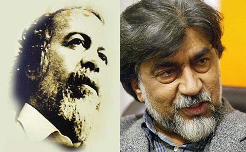 قیصر امین پور و سید حسن حسینی