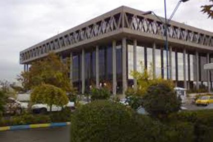 ساختمان شیشه ای صدا و سیما