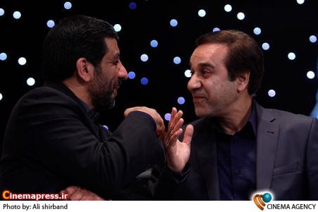 محمد گلریز در اختتامیه دومین جشنواره تلویزیونی جام جم