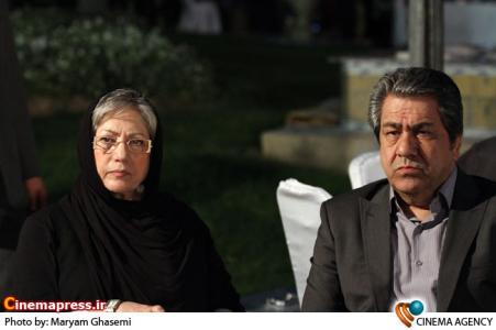 جهانگیر کوثری و رخشان بنی اعتماد در مراسم چهارمین شب کارگردانان سینمای ایران