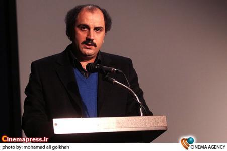 سخنرانی دیبایی مدیر روابط عمومی معاونت سینمایی در افتتاحیه دومین جشنواره بین المللی فیلم پروین اعتصامی