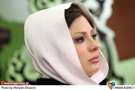 نیوشا ضیغمی در نشست فیلم گشت ارشاد در سی امین جشنواره فیلم فجر