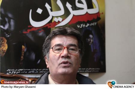 علی توکل نیا کارگردان در  نشست فیلم سینمایی نفرین