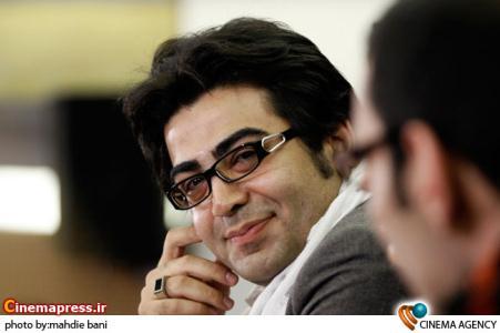 فرزاد حسنی در  نشست فیلم آمین خواهیم گفت به کارگردانی سامان سالور درجشنواره فیلم فجر