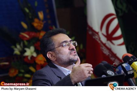سخنرانی حسینی وزیر ارشاد در افتتاح سازمان سینمایی کشور در برج میلاد