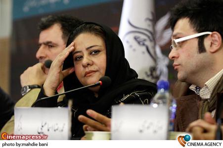 رابعه اسکویی در نشست فیلم دزدان خیابان جردن در سی امین جشنواره فیلم فجر