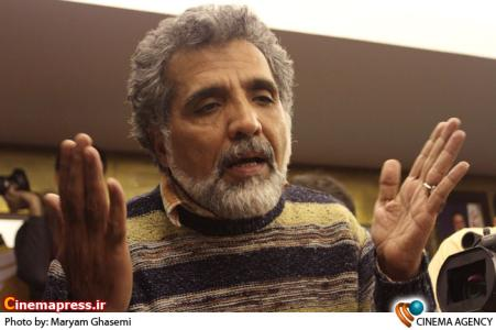 بهروز افخمی کارگردان در نشست حاشیه ای فیلم فرزند صبح