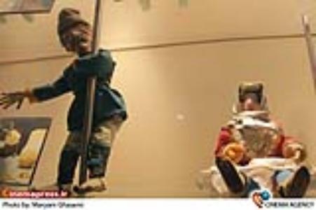 عروسک های فیلم قصه های علیمراددر موزه سینما