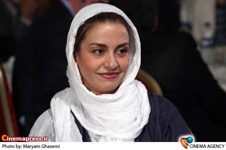 مریلا زارعی در مراسم اختتامیه نخستین جشنواره فیلم های ویدئویی تهران