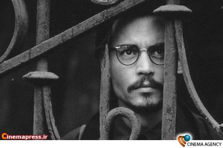 جانی دپ بازیگر خلاق سینمای هالیوود در نمایی یکی از فیلم هایش