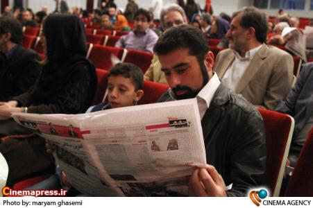 جواد مزدآبادی در اختتامیه ششمین جشنواره سینما حقیقت