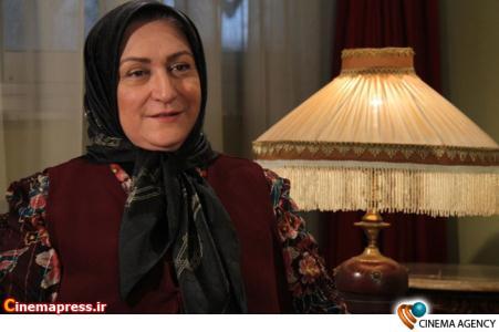 مریم امیر جلالی در مجموعه تلویزیونی دختری به نام آهو به کارگردانی قدرت اله صلح میرزایی