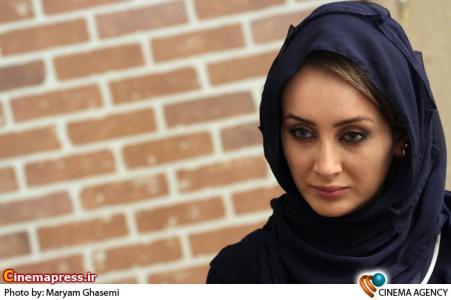 سولماز حصاری بازیگر در نشست سریال سراب به کارگردانی حسین سهیلی زاده